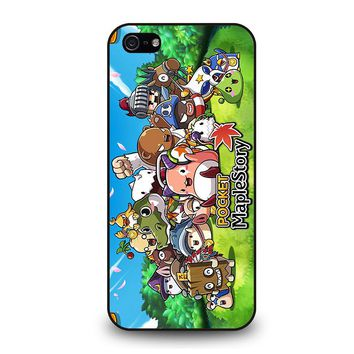 POCKET MAPLESTORY iPhone 5 / 5S / SE Case Cover