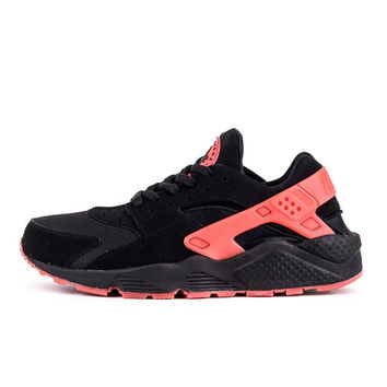 NH05 - Nike Air Huarache (Black/Pink)