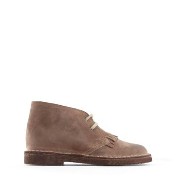 Made In Italia Brown Lace Up Boots