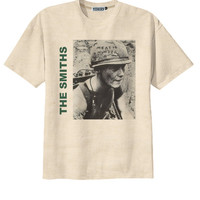 Retro The Smiths Album Cover Punk Rock T-Shirt Tee Organic Cotton Vintage Look Size S M L