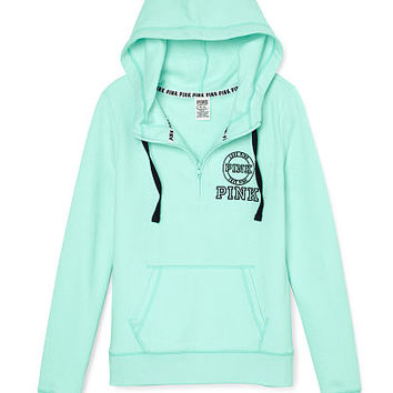 Perfect Half-Zip Hoodie - PINK - from VS PINK | PINK/Victoria's