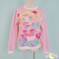 Ready Stock![Princessmisery Design] [Sailor Moon] Fleece Jumper SP141604