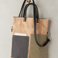 Lowland Pocket Tote by Kassiopea Cedar One Size Bags