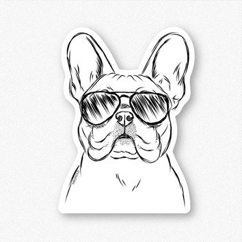 Franco the French Bulldog - Decal Sticker