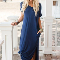 T-Shirt Slouchy Maxi Dress