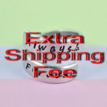 Extra Shipping Fee for Second Different Address