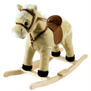 Happy Trails?  Rocking Lil Henry the Horse