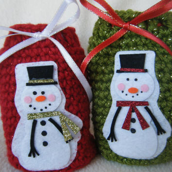 Christmas Gift/Treat Bags - Set of 2