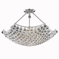 Taillefer - Hanging Fixture (12 Light Modern Hanging Crystal Chandelier) - 8332D30