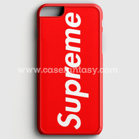 Supreme New York Clothing Skateboarding iPhone 6 Plus/6S Plus Case | casefantasy