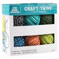 Kid Made Modern Crafting Twine Collection