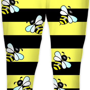 Wasp stripes and wasps sweatpants, joggers, thick stripes themed jogging pants