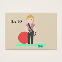 Pilates Training Business Card