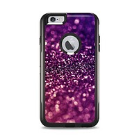 The Unfocused Purple & Pink Glimmer Apple iPhone 6 Plus Otterbox Commuter Case Skin Set
