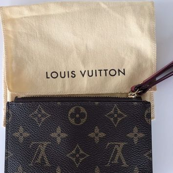 Louis Vuitton Adele Compact Purse/ Wallet