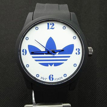 ADIDAS tide brand fashion men and women fashion watch F-SBHY-WSL Black