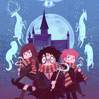 Brave Wizarding a Harry Potter Homage poster