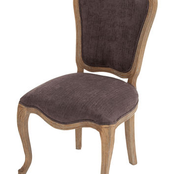 The Royal Wood Fabric Vintage Chair