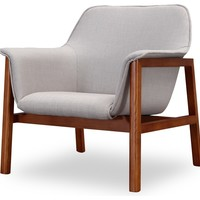 Miller Accent Chair - Midcentury - Armchairs And Accent Chairs - by CEETS