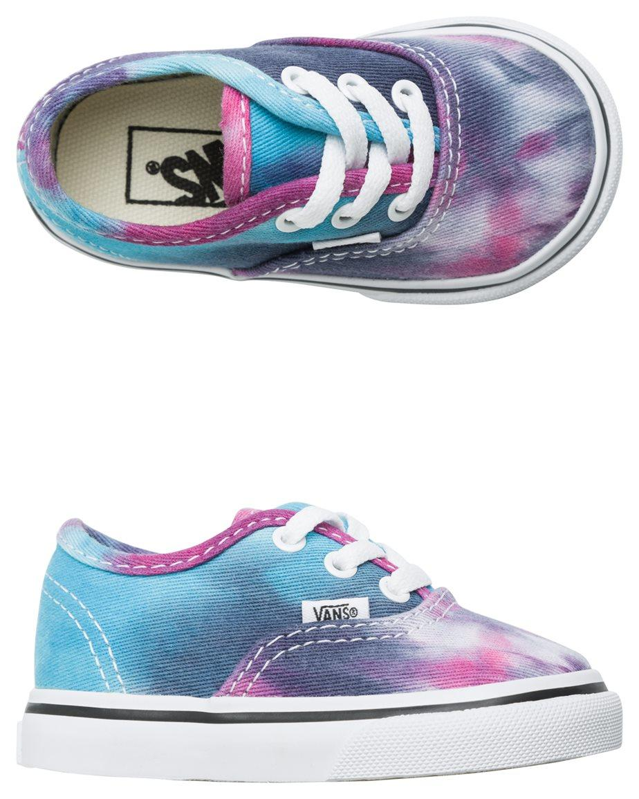 VANS TODDLER AUTHENTIC TIE DYE SHOE from SWELL