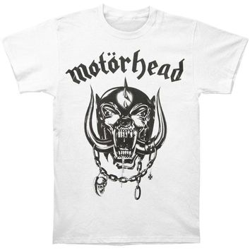 Motorhead Men's  Flat War Pig T-shirt White