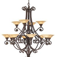 Murray Feiss Chandelier, Cabash 12 Light 2 Tier - Ceiling Lighting Lighting & Lamps - for the home - Macy's