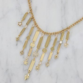Pixie Dust Choker in Gold
