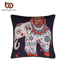 BeddingOutlet Moroccan Cushion Cover Elephant Tree Indian Throw Pillow Cover Stylish Boho 70cmx70cm/45cmx45cm Bedding Discount