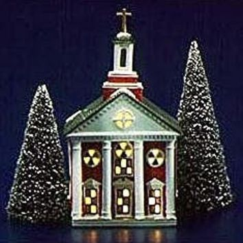 Dept 56 Original Snow Village Colonial Church 5119-5