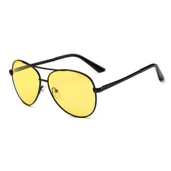 Polarized Sunglasses Yellow Glasses Block Nighttime Glare, Reduces Eye Strain ,Driving toad glasses men and women UV400