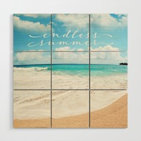 endless summer Wood Wall Art by sylviacookphotography