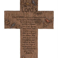 2 Wall Crosses - Lord's Prayer