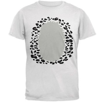 DCCKJY1 Halloween Snow Leopard Costume Mens T Shirt