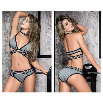 Mapale 2490 Two Piece Set Color Gray