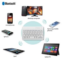 ELEGIANT Aluminum Ultra Slim Wireless Bluetooth Keyboard For Windows Android IOS PC Tab