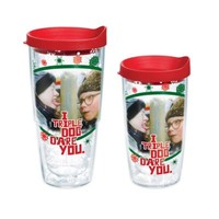 """Tervis® """"A Christmas Story"""" """"I Triple Dog Dare You"""" Wrap Tumbler with Lid"""
