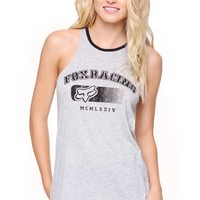 Fox Racing Tank - Womens Tee - E. Heather Grey