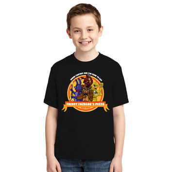 Five Nights At Freddy's Pizza Youth T-shirt