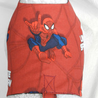 Marvel Comic Book Character SPIDER MAN Harness. Custom made for your Cat, Dog or Ferret.
