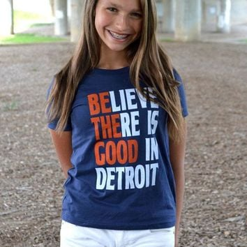 Detroit Respect Be the Good Tee - Youth