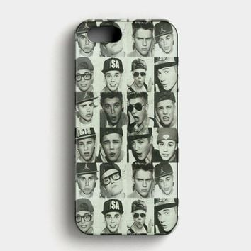 Justin Bieber Cool Photos iPhone SE Case