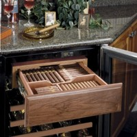 Cigar Humidor with Wine Cellar