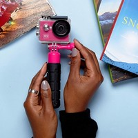 Kitvision Pink Fresh Action Travel Camera at asos.com