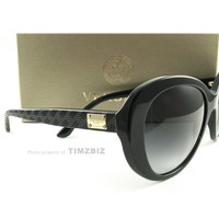 New Versace Sunglasses VE4273 Black GB18G Authentic Made in Italy