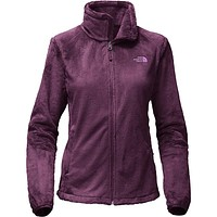 Women's Osito 2 Full Zip Fleece Jacket in Blackberry Wine by The North Face