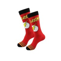 The Flash Comic Socks