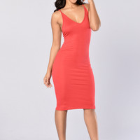 Alondra Dress - Red