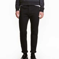 Twill Pants Slim fit - from H&M