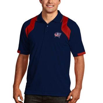 Columbus Blue Jackets Antigua Fusion Polo – Navy Blue