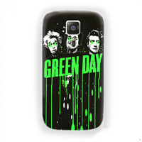 Green Day black Music Band poster For Samsung Galaxy S6 Edge Case